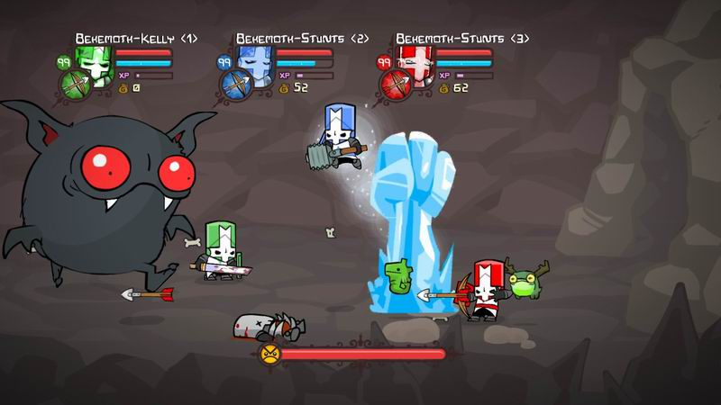 Are you ready to go through Castle Crashers boss fights once again?